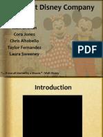 Section 1 Disney PPT