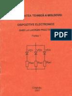 Dispozitive electronice - Ghid la lucrări  practice 1