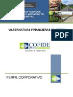 Alternativas Financieras en Perú. Carlos Paredes