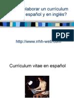 elaboración de curriculum