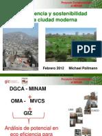 Ecoeficiencia y Sostenibilidad en La Ciudad Moderna. Michael Pollmann
