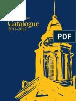 CourseCatalogue-2011-2012