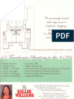 Strohmberg Townhomes Baton Rouge Units for Sale Flyer 2012