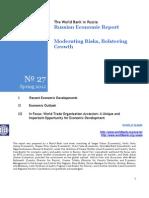 2012 - Russia Economic Report - WB