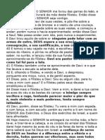 Perg Sex- 13-04-2012- Vitoria de Davi Sobre Golias- 1 SAMUEL 17