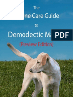Canine Care Guide Demodectic Mange Preview Edition
