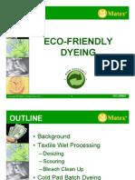 Eco Friendly Dyeing Final Version