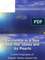 Biography of Sh Abdus Salaam Barjass