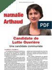 Profession de Foi de Nathalie Arthaud - Election Présidentielle 2012 - Premier Tour