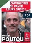 Profession de Foi de Philippe Poutou - Election Présidentielle 2012 - Premier Tour