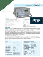 SLM620 - Selective Level Meter