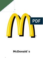 Proiect McDonald`s