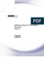 WebSphere Adapter for SAP Software User Guide v7