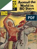 Around the World in 80 Days Comics
