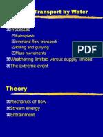Appendix 1 Sediment Transport by Water