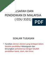 FPK Pismp Sem 1 Pembentangan 5 elemen-elemen yang terdapat dalam falsafah pendidikan