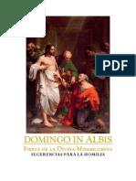 Domingo de albis (sugerencias homilía)