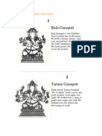 32 Forms of God Ganesh