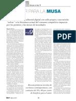 Trabajar para la musa digital