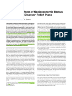 Analysis of Effects of Sociaeconomic Status on Hurricane Disaster Relief Plans - Horner_2008