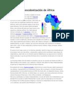La descolonización de África