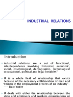 c. Industrial Relation