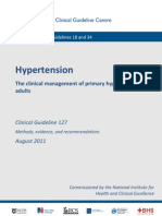 NICE CG 127 Hypertension