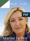 Programme Marine Le Pen - Election Présidentielle 2012