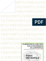 Paris Métropole - Livre vert 10 avril 2012