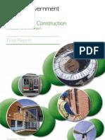 Low Carbon Construction Final Report 2010