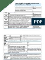 Analiza Creditului Prima CASA La Doua Institutii Bancare