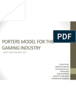 Porters Model for the Gaming Industry