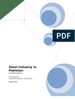 Analysis of Steel Industry in Pakistan