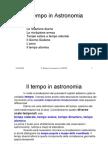 10 Il Tempo in Astronomia Copy