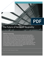 The Future of Network Neutrality