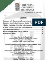 FoJMB Newsletter 2012 04