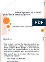 Design and Development of a Small Unmanned