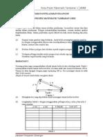 Kerja Projek Matematik Tambahan 2012 Bahagian 1