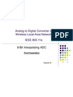 Analog to Digital Converter in Wireless Local Area Network
