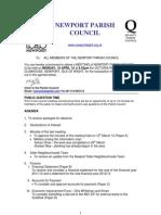 Agenda Npc 16th April 12