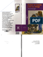 LENGUAJE (2012) libro 02 - ámbar en cuarto y sin su amigo PAULA DANZIGER