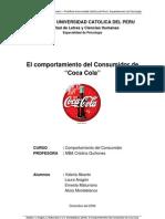El Comportamiento del Consumidor de Coca Cola
