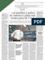 Los países de América Latina son vitales para EE.UU.