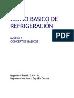 modulo 1 Refrigeración Basica