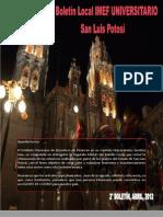 San Luis Potosí - Abril 2012