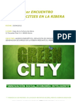 Jornada Green Cities La Ribera