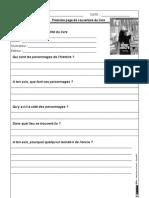 Litterature Le Buveur d Encre Questions Cm2