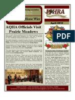 IQHRA Newsletter - April 2012