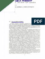 Manuel García Ferrando, Aspectos Sociales del Deporte cap. 2
