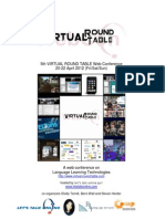 Sponsorship Opportunity 5th Virtual Round Table Web Conference 2012